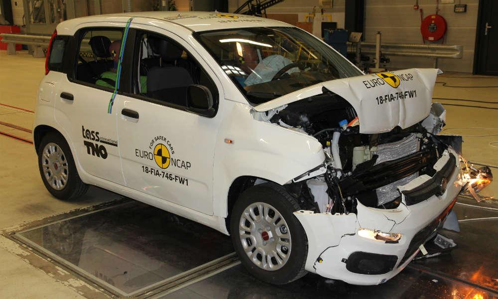 Fiat Panda wypadł bardzo źle podczas tegorocznych testów Euro NCAP. Fot. mat. prasowe