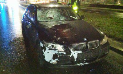 Kierowca BMW zabił w Toruniu przechodzące przez przejście matkę i córkę. Fot. Policja
