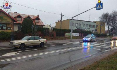 Kierowca potrącił 68-latka na przejściu dla pieszych w Kurowie. Fot. Policja