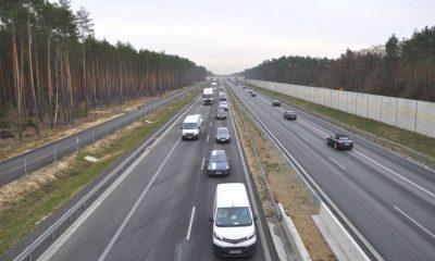 Nowa jezdnia S3 oddana do ruchu niedaleko Zielonej Góry. Fot. GDDKiA