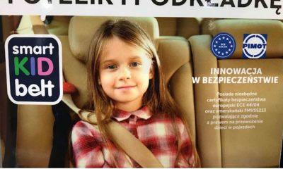 Przemysłowy Instytut Motoryzacji twierdzi, że producent Smart Kid Belt wykorzystał na swoim produkcie logo PIMOT bez uzgodnienia i bezprawnie. Instytut zażądał wycofania tak oznaczonych produktów. Fot. brd24.pl