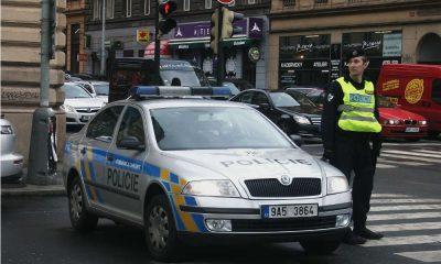 Czeska policja na drodze Fot. KevinB./CC ASA 4.0