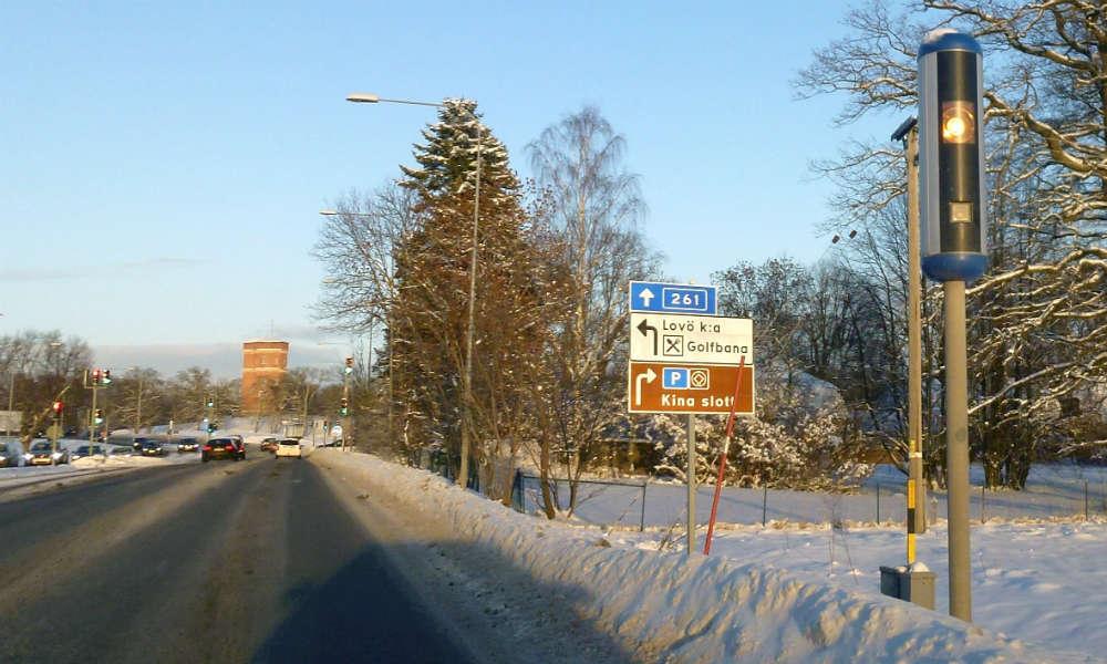 W Szwecji na drogach działa ok. 1,6 tys. fotoradarów. Fot. Holger Ellgaard/CC ASA 3.0