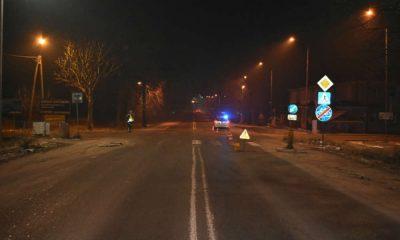 Dwóch kierowców wjechało w pieszą w Garwolinie. 18-latka nie przeżyła wypadku. Fot. Policja