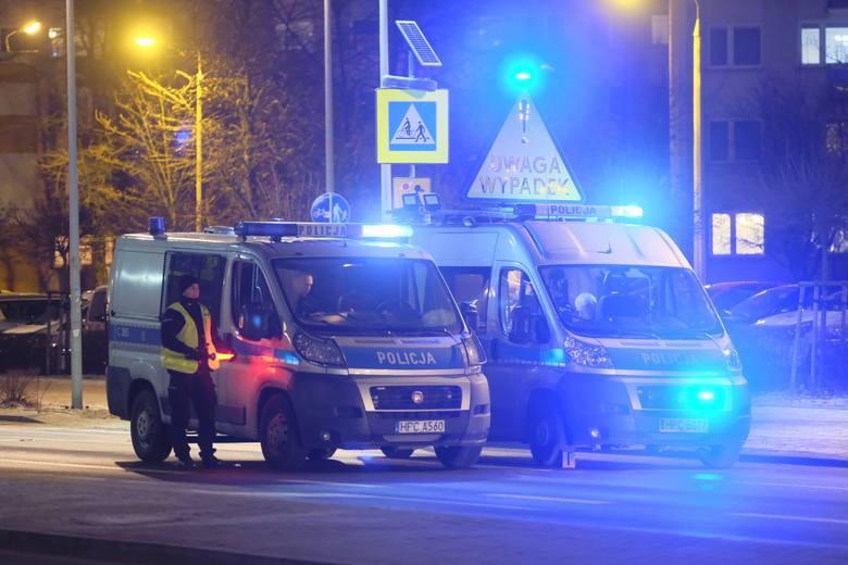 Wypadek na ul. Bema w Toruniu. Fot. Facebook/toruński klub hokejowy