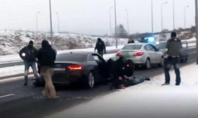 Policjanci zatrzymali 25-latka, który w ostatnie Walentynki zabił na pasach starszą pieszą i uciekł. Mat. policji