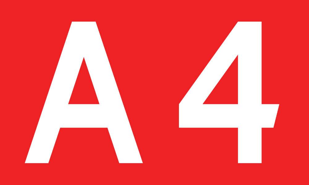 Oznaczenie autostrady A4