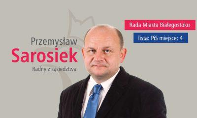 Przemysław Sarosiek, dyrektor WORD w Białymstoku wcześniej kandydował w wyborach samorządowych z listy PiS. Fot. mat. prasowe
