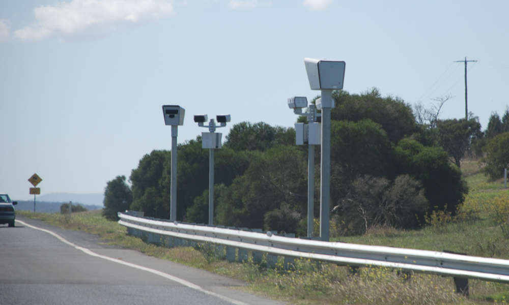 Odcinkowy pomiar prędkości w Australii Fot. davepaku/Flickr/CC ASA 2.0