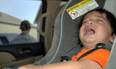 Dziecko w samochodzie. Fot. US Air Force/Airman 1st Class Cody H. Ramirez