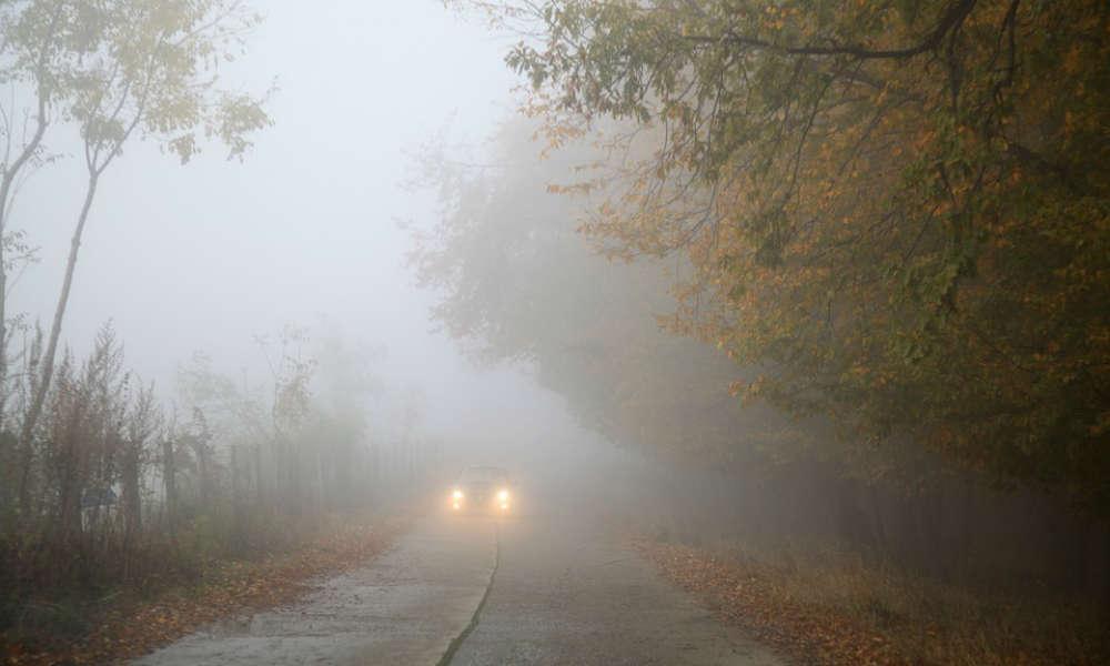 Samochód na drodze we mgle. Fot. Pixabay/CC0