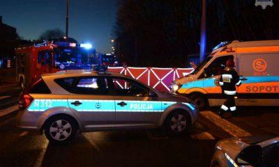 Pijany kierowca uciekał przed policją i doprowadził do wypadku, w którym zginęły dwie osoby. Fot. Policja