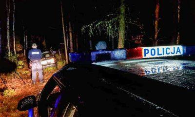 Kierowca po amfetaminie uciekał przed policją w Lubuskiem Fot. Policja