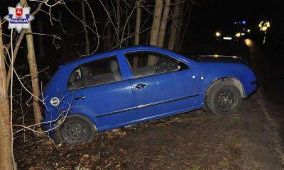 W Wilczyskach kobieta została przygnieciona przez własny samochód Fot. Policja