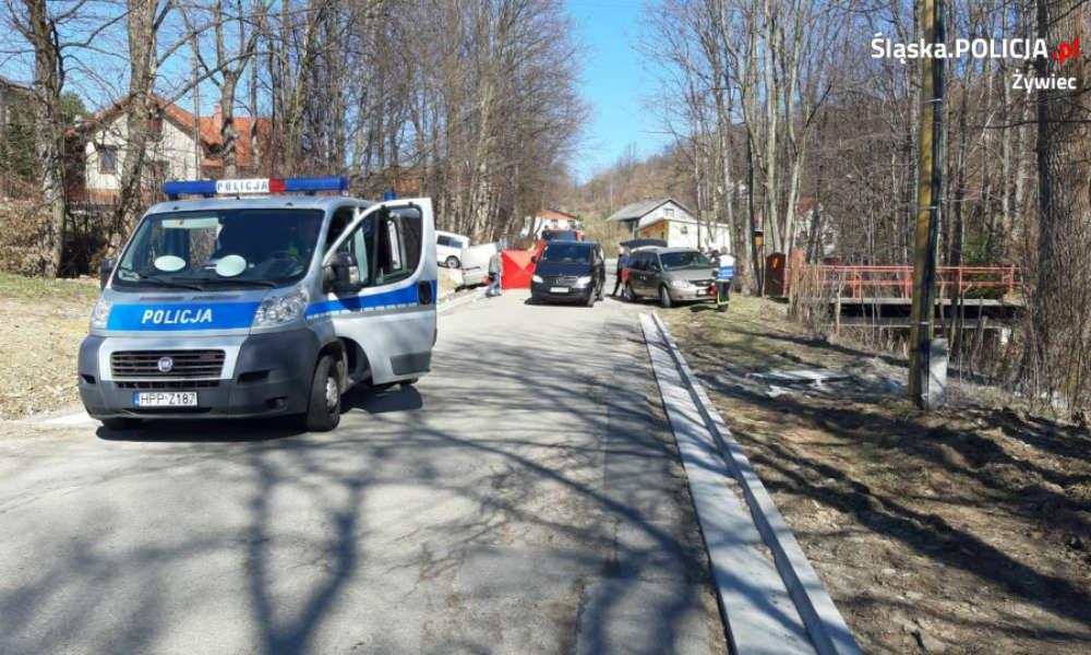 Kierowca zjechał na pobocze i zabił dwie piesze w Rychwałdku Fot. Policja