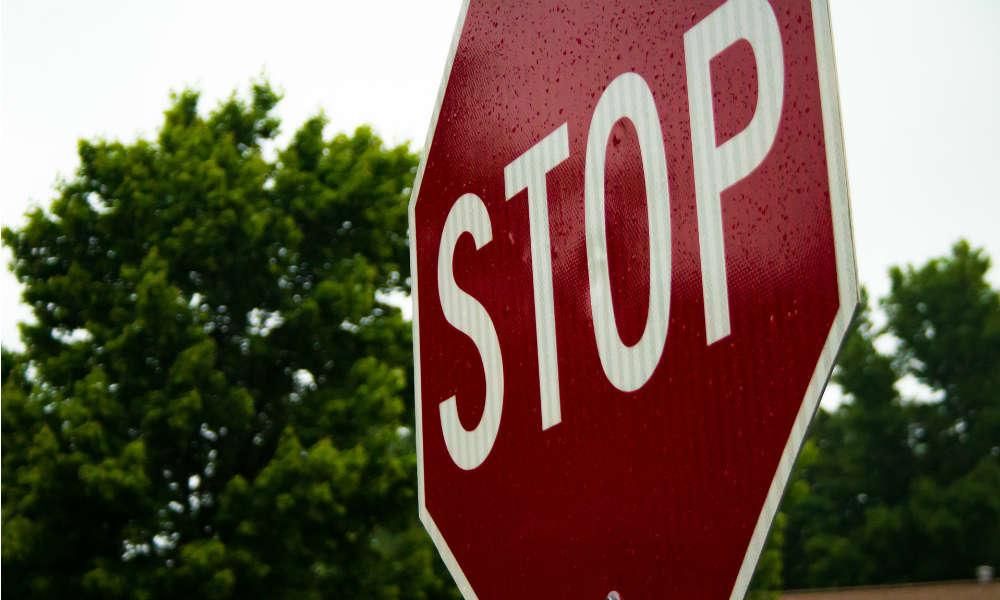 Znak drogowy STOP Fot. CC0