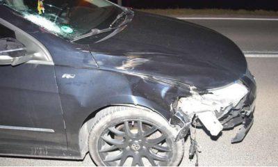 Kierowca śmiertelnie potrącił pieszego na przejściu w Krościenku nad Dunajcem. Fot. Policja