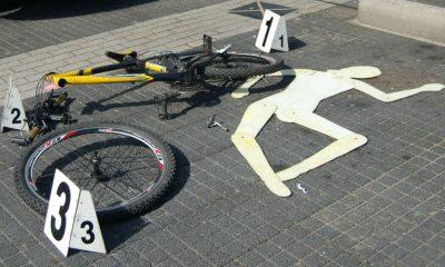 Potrącenie rowerzysty Fot. CC0/Pexels