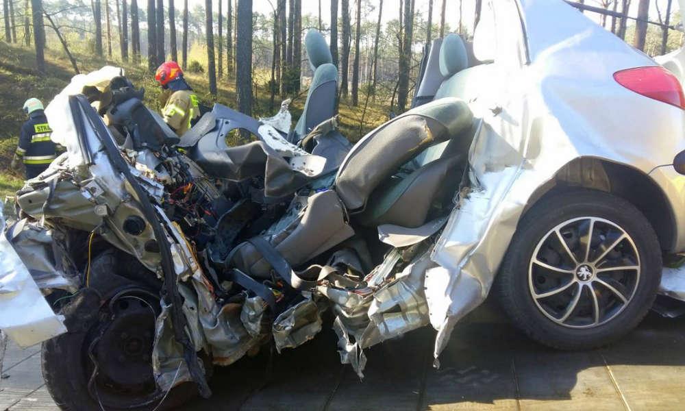 Śmiertelny wypadek w Emilianowie pod Bydgoszczą Fot. Policja
