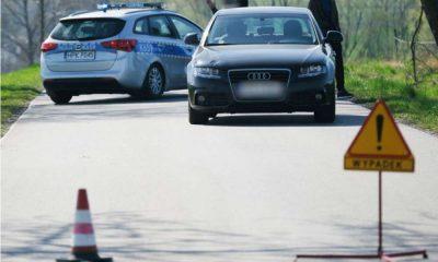 Śmiertelne potrącenie trzylatka w miejscowości Grochowce Fot. Policja