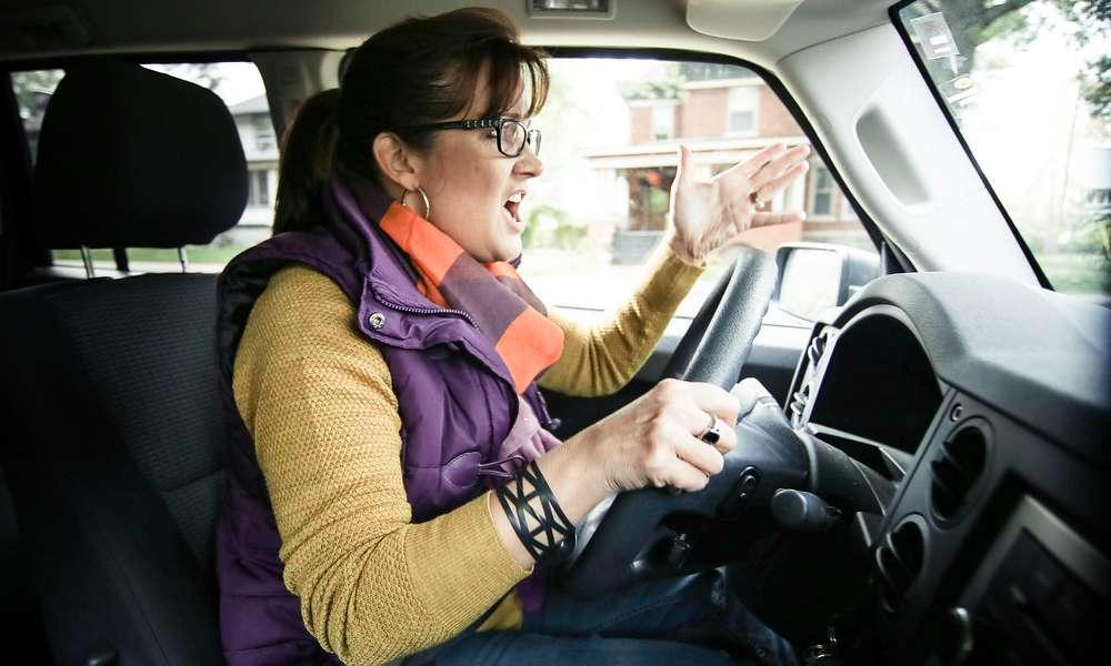 Agresywny kierowca. Fot. Flickr/State Farm/ CC BY 2.0