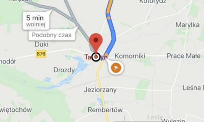 Google Maps rozpoczęło pokazywanie fotoradarów na polskich drogach. Widoczne są też rejestratory czerwonych świateł i odcinkowe pomiary prędkości