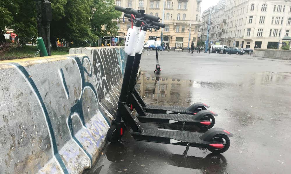 Elektryczne hulajnogi w Warszawie Fot. brd24.pl