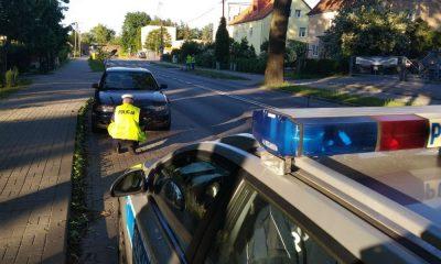 73-latek przejechał dziecko na przejściu dla pieszych w Lidzbarku Warmińskim. Fot. Policja