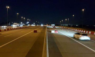GDDKiA rozebrała niedokończony punkt poboru opłat na autostradzie A2 w okolicach Pruszkowa. Fot. GDDKiA