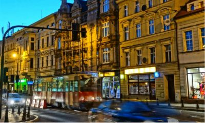 Tramwaj na ul. Focha w Bydgoszczy Fot. CC0