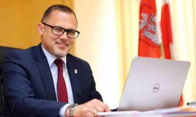 Paweł Osiewała, prezydent Sieradza. Fot. UM Sieradz