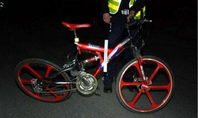 22-latek na rowerze śmiertelnie potrącił pieszego Fot. Policja