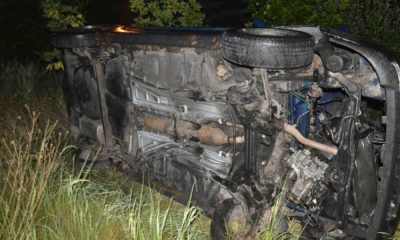 25-latka dachowała samochodem uciekając przed policją. Była pijana. W wypadki zginął jej 2-letni synek. Fot. Policja