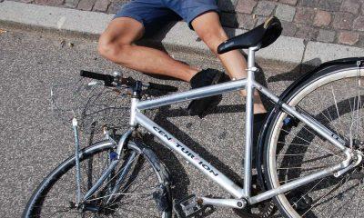 Wypadek na rowerze. Fot. CC0