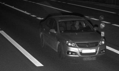 Mężczyzna przyłapany przez fotoradar w Jasieniu jechał 155 km/h w obszarze zabudowanym. Fot. CANARD
