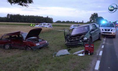 Śmiertelny wypadek w miejscowości Horodyszcze Źródło: TVN24
