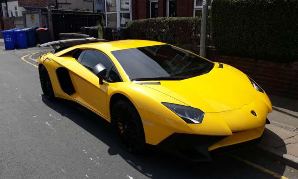 Lamborghini Fot. Twitter/Greater Manchester Traffic Polic