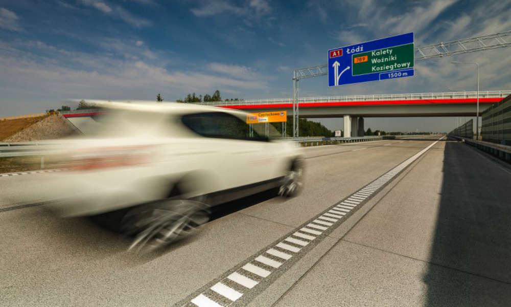 GDDKiA oddaje do ruchu 33-kilometrowy odcinek autostrady A1 od węzła Częstochowa Południe do węzła Pyrzowice. Fot. GDDKiA