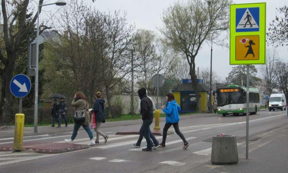 Przejście dla pieszych. Fot. Wikimedia Commons/Henryk Borawski