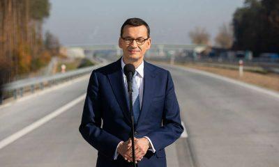Premier Mateusz Morawiecki. Fot. Kancelaria Premiera