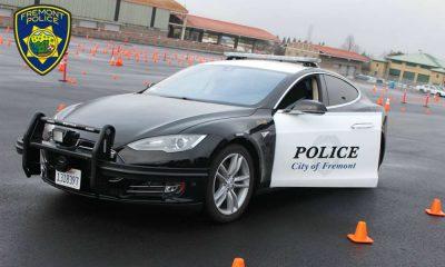 Radiowóz tesla należący do policji we Fremont (USA). Fot. Fremont Police Department