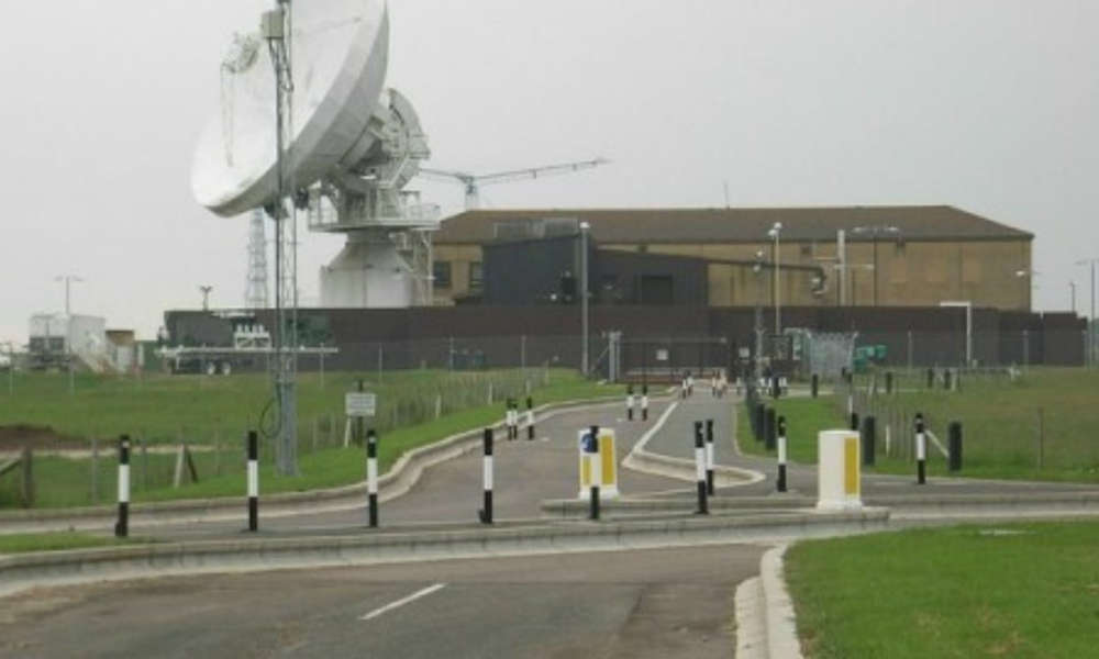 RAF w Croughton Źródło: military bases.com