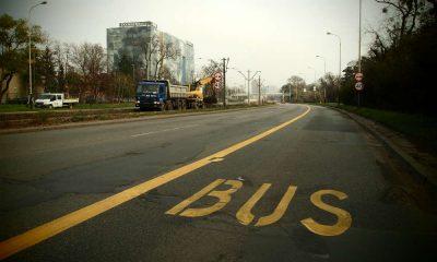Według przedstawicieli Ministerstwa Infrastruktury nakaz jazdy na suwak nie będzie obowiązywał, jeśli pas ruchu będzie zmieniał się w buspas. Fot. PTER19/CC ASA 3.0