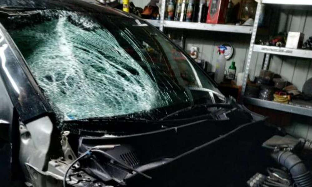Kierowca toyoty RAV4 usłyszał zarzut spowodowania wypadku ze skutkiem śmiertelnym i ucieczki z miejsca zdarzenia Fot. Policja