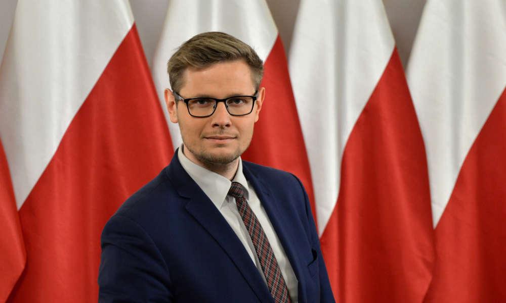 Michał Woś, minister środowiska Fot. Darts1989/CC BY 4.0