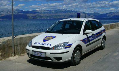 Radiowóz policji w Chorwacji. Fot. lilivanili/Flickr/CC BY 2.0