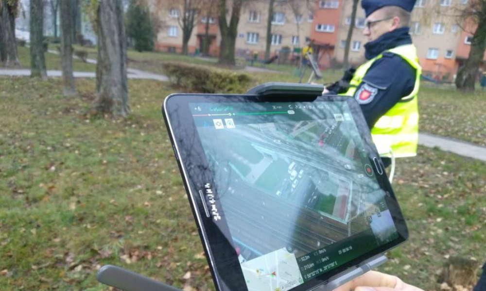 Świętokrzyska policja w Kielcach wyłapywała kierowców zagrażających pieszym. Fot. Policja
