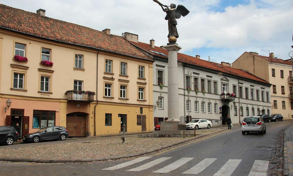 Przejście dla pieszych w Wilnie Fot. CC0