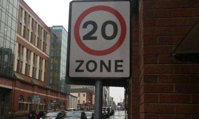 Strefa 20 mph Źródło: https://www.glasgow.gov.uk/