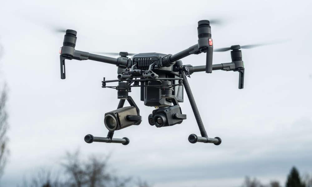 Dron Matrice 200 Fot. mat. prasowe